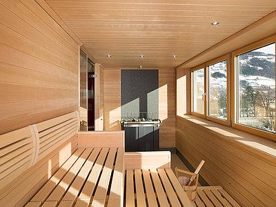 Sauna - Vergeiner's Hotel Traube ©Martin Lugger