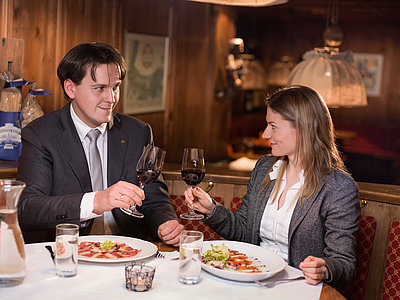 Kulinarische Highlights - Restaurant La Taverna @Martin Lugger