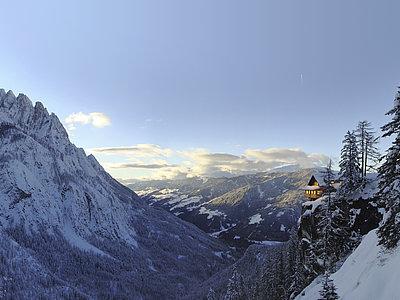 Dolomitenhütte (Winter) ©Zlöbl Armin (TVB Osttirol)