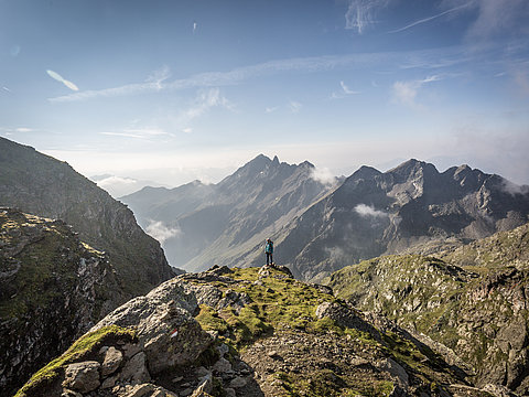 Wandern in der Schobergruppe - Nationalpark Hohe Tauern ©Bardelot Jean-Paul (TVB Osttirol)