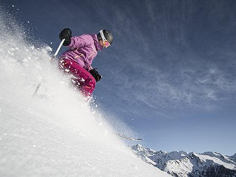 Pulverschnee Großglockner Resort ©Berg im Bild (TVB Osttirol)