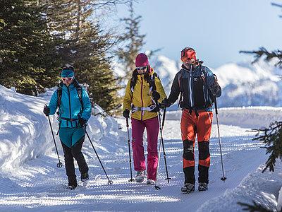 Winterwandern Kartitsch ©Berg im Bild (TVB Osttirol)