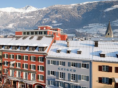 Vergeiner's Hotel Traube (Winter) ©Wolfgang C. Retter