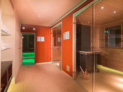 moderne Saunalandschaft ©Martin Lugger