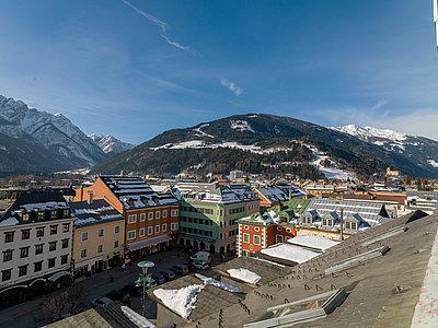 Panoramablick vom Vergeiner's Hotel Traube ©Martin Lugger