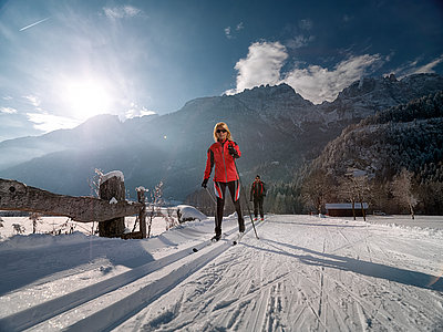 Langlaufen in Lienz ©Lugger Martin (TVB Osttirol)