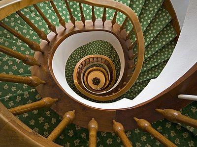 Stiegenhaus ©Vergeiner's Hotel Traube