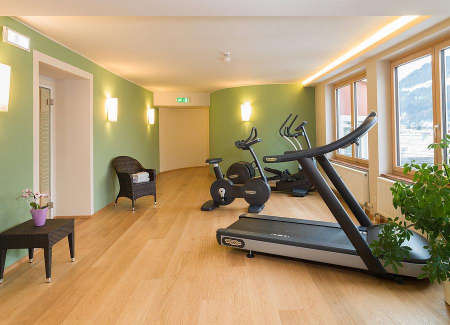 Fitnessraum - Vergeiner's Hotel Traube ©Martin Lugger
