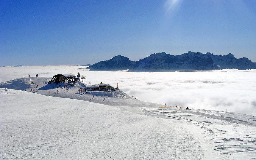 Skigebiet Zettersfeld - Steiner Mandl ©Zlöbl Armin (TVB Osttirol)