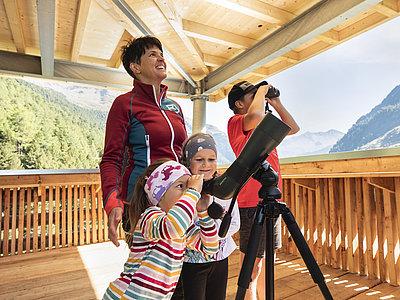 Wildtierbeobachtungsturm Oberhaus ©Waldner Ramona (TVB Osttirol)