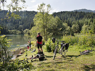 Osttirol Drauradweg (Lienz) ©Bauer Frank (Tirol Werbung)