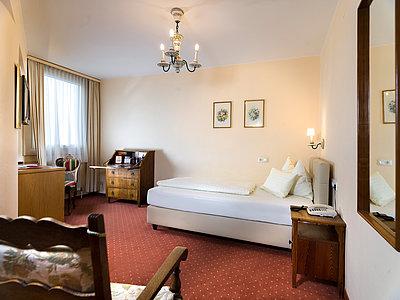 komfortables Einzelzimmer ©Martin Lugger