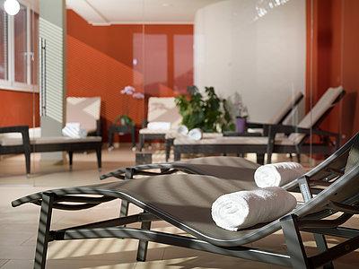 komfortable Liegebetten - Saunabereich ©Martin Lugger