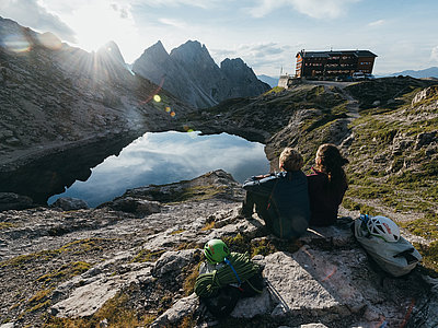 Ausblick Karlsbaderhütte ©Strauss Sam (TVB Osttirol)