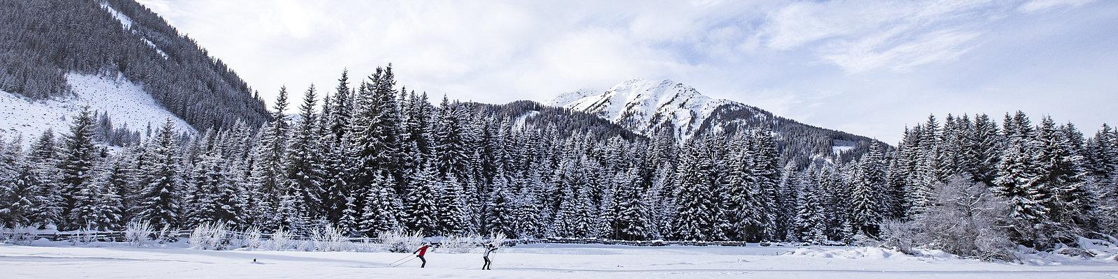 Langlauf Obertilliach ©Berg im Bild (TVB Osttirol)