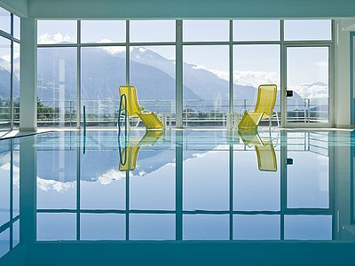 Panorama Pool ©Vergeiner's Hotel Traube