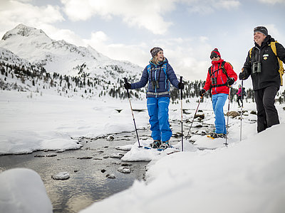 Schneeschuhwandern Nationalpark Hohe Tauern ©Lugger Martin (TVB Osttirol)