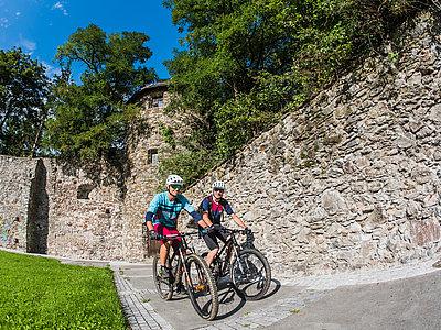 Biken in Lienz ©Kalchhauser Roland (TVB Osttirol)