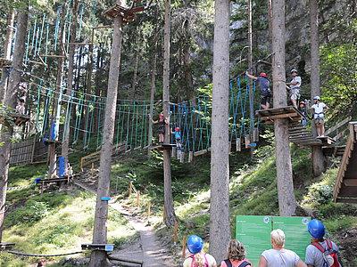 Waldseilpark Galitzenklamm ©Isep CK (TVB Osttirol)
