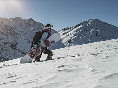 Snowboarden Skizentrum St. Jakob ©Berg im Bild (TVB Osttirol)