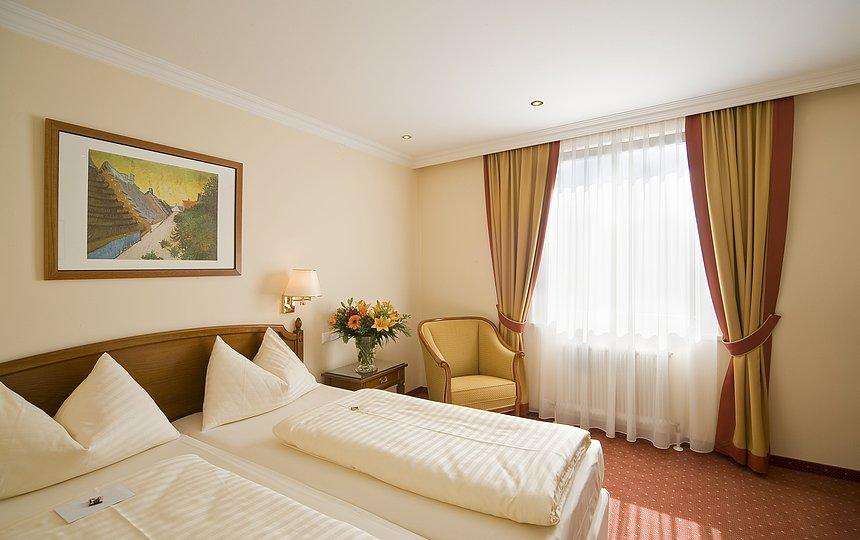 ruhiges Zimmer - Traube ©Vergeiner's Hotel Traube