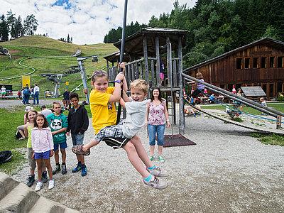 Spielplatz Wildpark Assling ©Fun Alpin Osttirol Sommerodelbahn GmbH (TVB Osttirol)