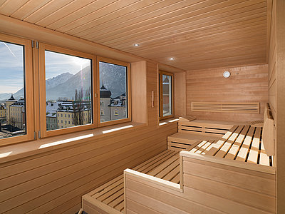 Panoramablick - Sauna ©Martin Lugger
