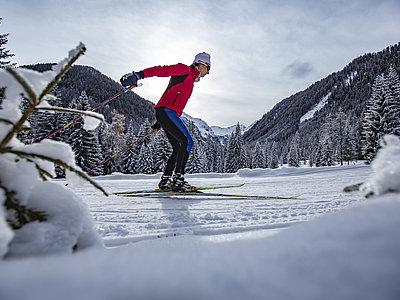 Langlaufvergüngen Obertilliach ©Berg im Bild (TVB Osttirol)