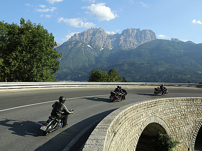 Motorradfahren in Osttirol ©Michael Meyer (TVB Osttirol)